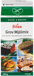 FINAX - GF Coarse Flour Mix - Single pack (900gms)